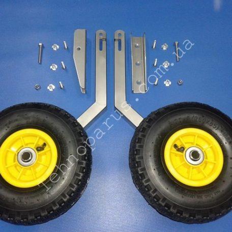 транцевые колеса легкосъемные кт1Н из нержавейки для лодки пвх