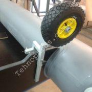 Транцевые колеса на лодку без сверления транца