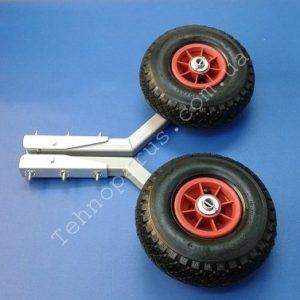 Транцевые колеса из алюминия от Технопарус