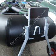 Транцевые колеса для гребной лодки КТ8