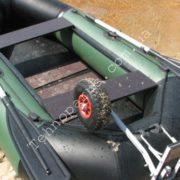 транцевые колеса на лодку без транца технопарус
