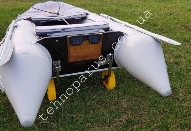 Колеса усиленные КТ3НУС на лодке клиента