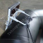 Транцевые колеса на лодку гребнушку КТ8