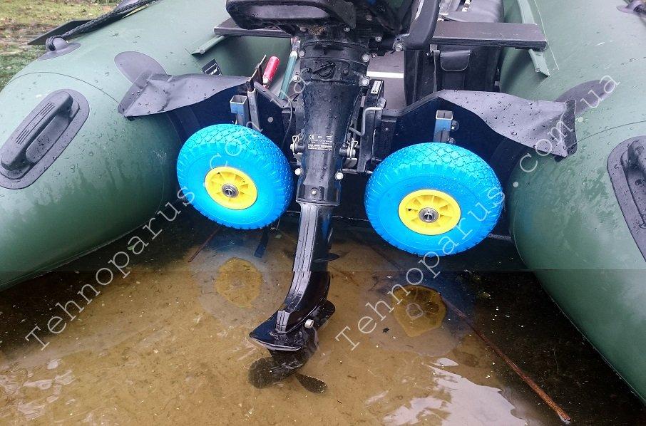 Транцевые колеса для лодки пвх трансформеры 172