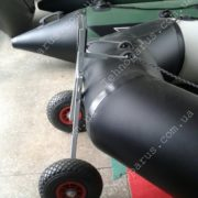 Транцевые колеса на лодку пвх гребную КТ8