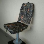 Кресло в лодку ПВХ со стойкой