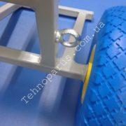 Тележка для лодочного мотора ТМ3 на пенополиуретановых колесах