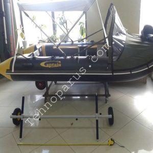 Колеса для перевозки лодки пвх своими руками