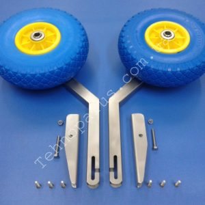 Транцевые колеса с пазами КТ1