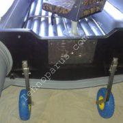Опора для стойки кресла в лодку ПВХ с надувным дном низкого давления