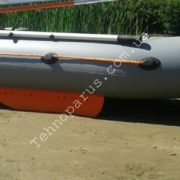 Лодка ПВХ с жестким килем