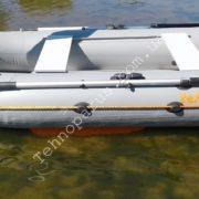 резиновые лодки с килем