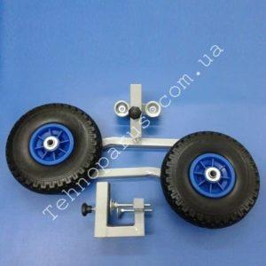 транцевые колеса для лодки на струбцинах кт7 от технопарус