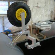 транцевые колеса на струбцинах кт7 для лодки пвх транец сверлить не нужно
