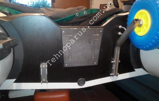 Транцевые колеса быстросъемные КТ10Н в ТОП комплектации