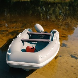 Лодка РИБ с алюминиевым корпусом, RIB ALL 440 DOKKER