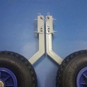 Транцевые колеса для лодки КТ4 акционные.